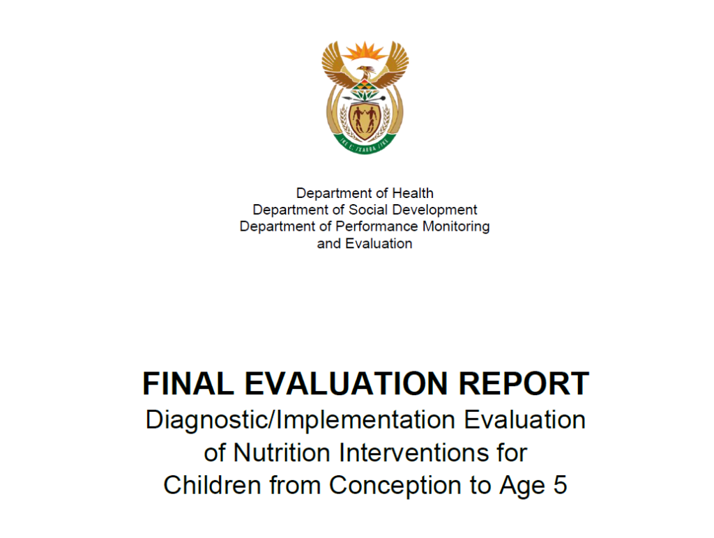 SA Government adopts Khulisa findings in major nutrition project
