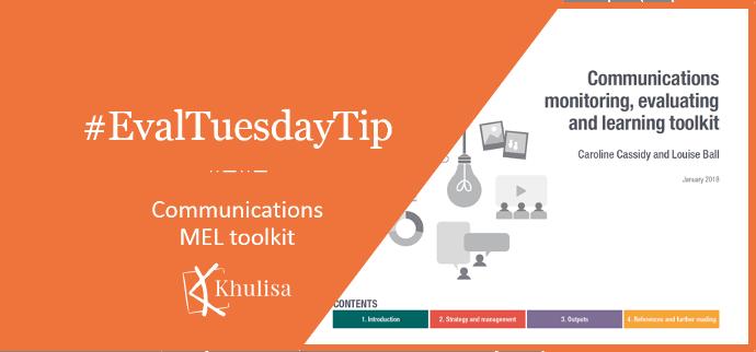 #EvalTuesdayTip: Communications MEL toolkit
