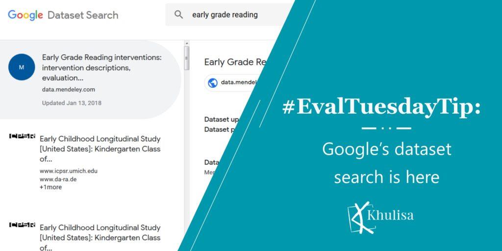 #EvalTuesdayTip: Google's Dataset Search Is Here