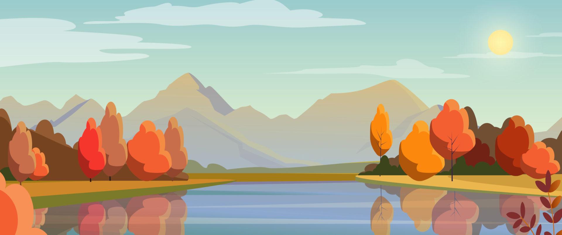 river sunrise