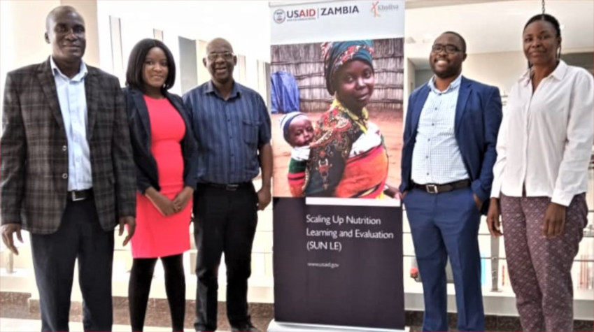 Scaling Up Nutrition Learning & Evaluation in Zambia